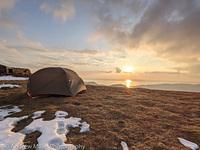 Snow on the top of Cadir Idris, Cadair Idris photo