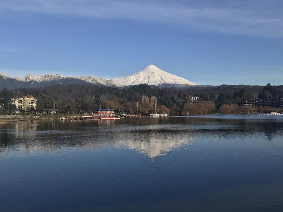 From La Poza de Pucón, Volcan Villarrica