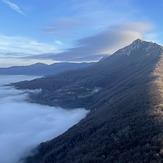 Above the clouds, Sokolov Kamen