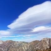 Lenticular Clouds over Mt. Baldy, Mount Baldy (San Gabriel Range)