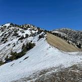The Narrow, Mount Baldy (San Gabriel Range)