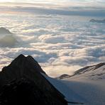 Sunrise at the summit of Vignemale