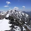 نمای قله خرسنگ
