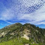 Telegraph Peak from Timber, Telegraph Peak (California)