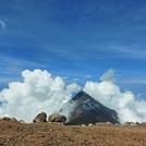 Fuego Volcano View