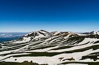 View from the top of Mt. Hakuun, Daisetsu photo