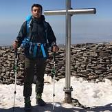 summit of Aragats, Mount Aragats