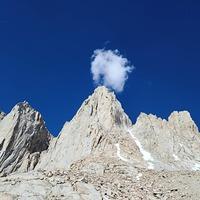 Mount Whitney mountaineers route photo