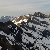 Olympus from near Mt Tom, Mount Olympus