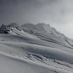winter view, Mount Tate