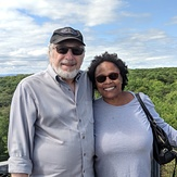 The wife and I higher than the highest point in Pa, Negro Mountain