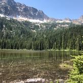 Cutthroat Lake and Peak, Cutthroat Peak