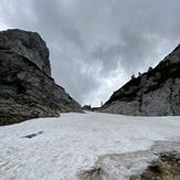 Passage after Prgarca hut, Triglav