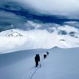 1st step of Khuiten peak, Khüiten Peak or Friendship Peak (友谊峰)
