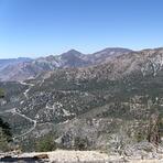 Twin Peaks & Waterman from S.Hawkins fire road, South Mount Hawkins