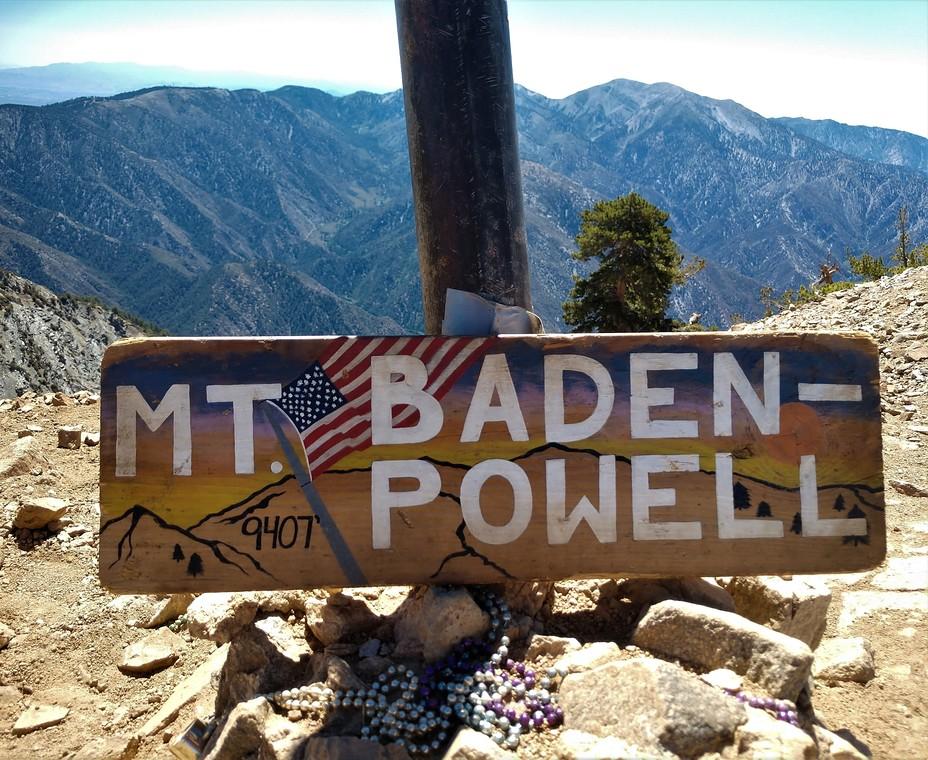Mt. Baden Powell, Mount Baden-Powell