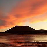 Volcán Antofagasta (atardecer), Antofagasta de la Sierra