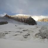 Vista del hombro norte, Monte San Lorenzo