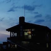 Sonbutsu lodge, Mount Tō
