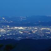 night view, Mount Tō