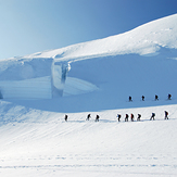 Glacier, Monte Rosa