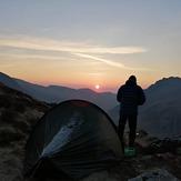 Y garn at sunrise, Y Garn (Glyderau)