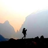 Canada Rocky mountain, Rocky Peak