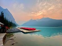 Lake louis, Rocky Peak photo