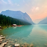 Lake louis, Rocky Peak