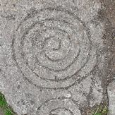 Spiral motif, Tibradden Mountain
