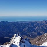 Summit view, Mt Tapuaenuku (Kaikouras)