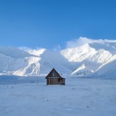 August 16th 3021, view from the Base Camp, Pik Lenin