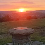 Sunset, Werneth Low