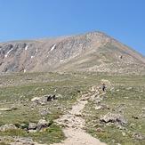 Elbert north trail about 12,500', Mount Elbert