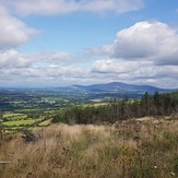 View on Mount Leinster, Brandon Hill
