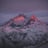 Sierra Velluda West Face