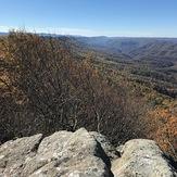 Buzz-Worm Rock, Little Shepherd Section, Pine Mountain Trail, Pine Mountain (Appalachian Mountains)