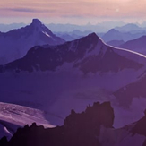 Bush Mountain & Mons Peak from Mount Forbes, Mount Lyell (Canada)