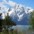 Grand Teton in the spring