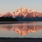 Early morning reflections, Grand Teton