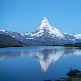 """The difference that 36 minutes can make: Matterhorn at the """"Blue Hour"""""""