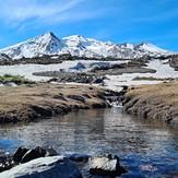 Desde el Waldorf, Nevados de Chillán
