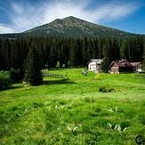Vezhen Peak and Hut Vezhen