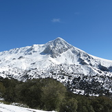 Peña Jaén, Sierra Mágina