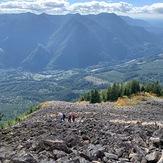 Stone field, Mailbox Peak