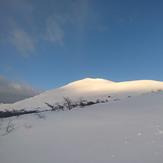 Monte Tarn desde el Plateau, Mount Tarn