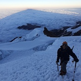 the shadow of the giant, Illimani