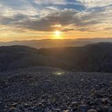 Scafell sunrise summit, Scafell Pike