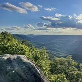 Buzz Worm Rock, Pine Mountain (Appalachian Mountains)