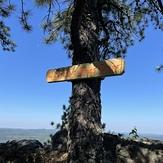 Whispering Pines Cliff, Pine Mountain (Appalachian Mountains)